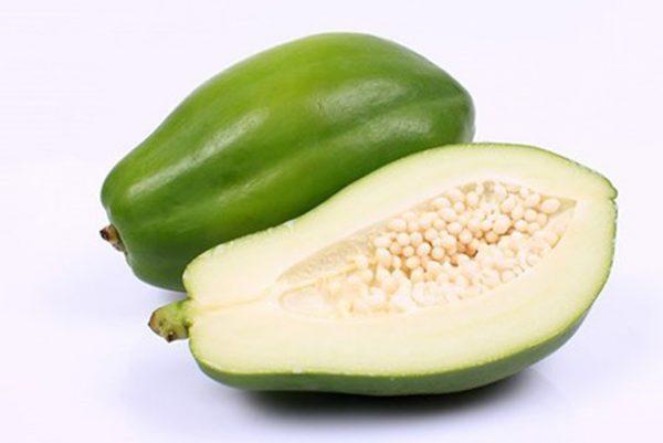 Ăn đu đủ xanh dẫn đến sảy thai