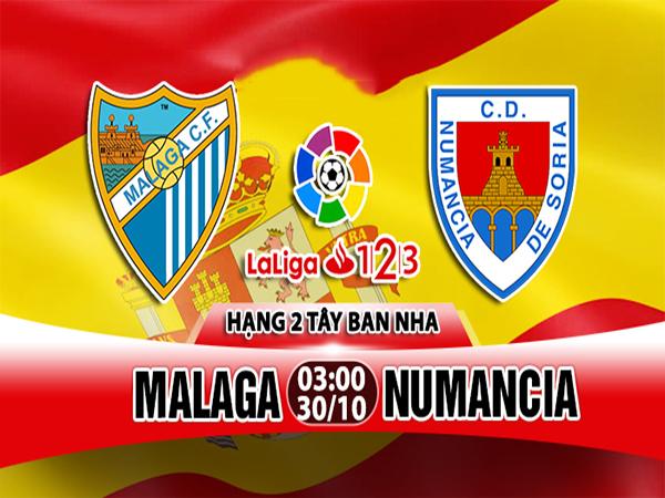 Nhận định Malaga vs Numancia