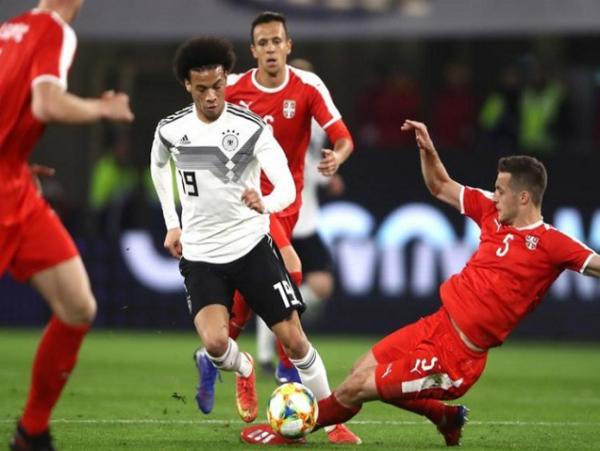 Đức bị Serbia cầm hòa trong trận giao hữu đầu tiên của năm 2019