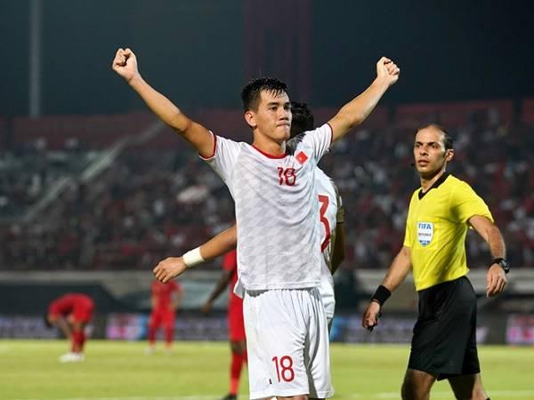 Tiến Linh bị đau nhẹ ở trận thắng U22 Lào