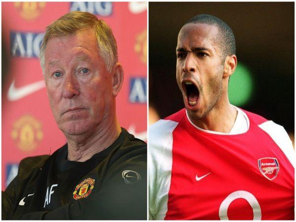 Sir Alex đã bỏ qua cơ hội chiêu mộ huyền thoại nước pháp Thierry Henry