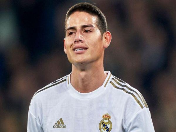 James Rodriguez có thể rời Real trong mùa hè