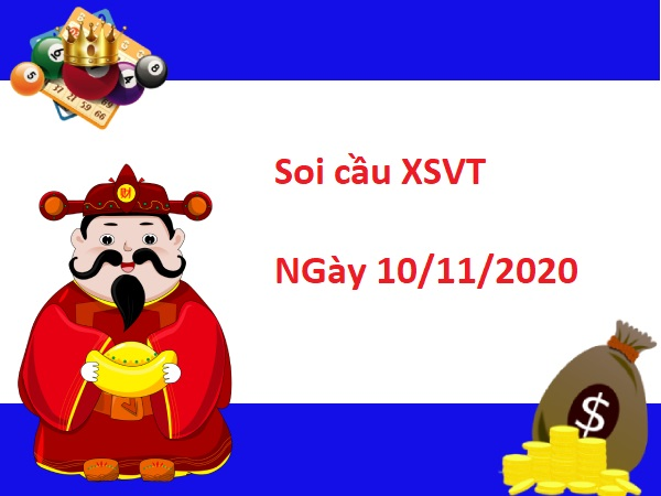 Soi Cầu XSVT 10/11/2020
