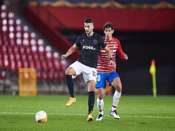 Soi kèo PAOK vs Granada, 00h55 ngày 11/12 - Cup C2 Châu Âu