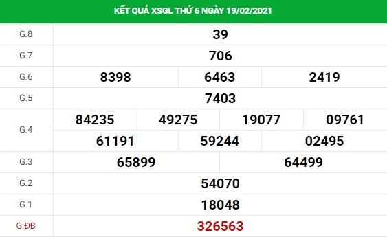Phân tích kết quả XS Gia Lai ngày 26/02/2021