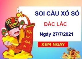 Soi cầu XSDLK ngày 27/7/2021