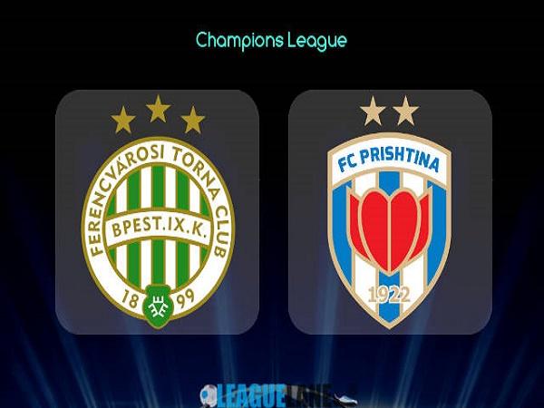 Soi kèo Ferencvaros vs Prishtina – 23h00 06/07/2021, Cúp C1 châu Âu