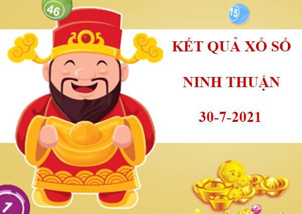 Dự đoán KQSX Ninh Thuận thứ 6 ngày 30/7/2021