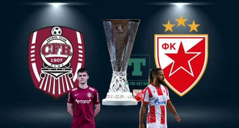 Nhận định, soi kèo Cluj vs Crvena Zvezda, 1h30 ngày 27/8