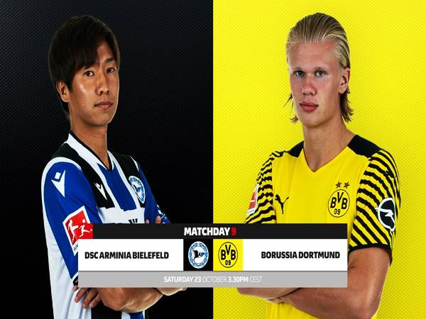 Soi kèo Châu Á Bielefeld vs Dortmund, 20h30 ngày 23/10